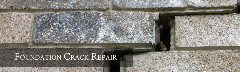 Foundation Crack Repair Banner
