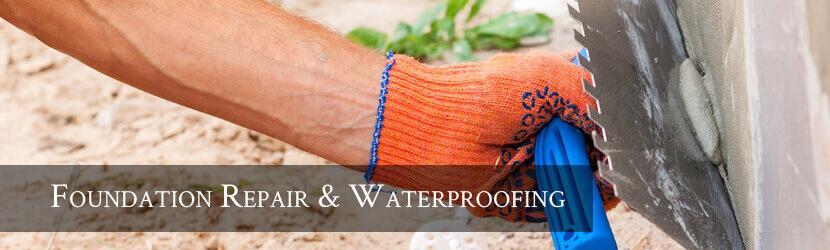 Foundation Waterproofing Banner
