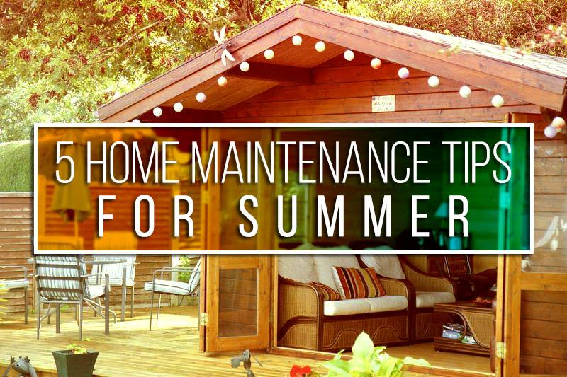 summer-home-maintence tips