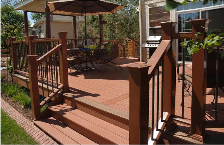 wooden deck maintenace