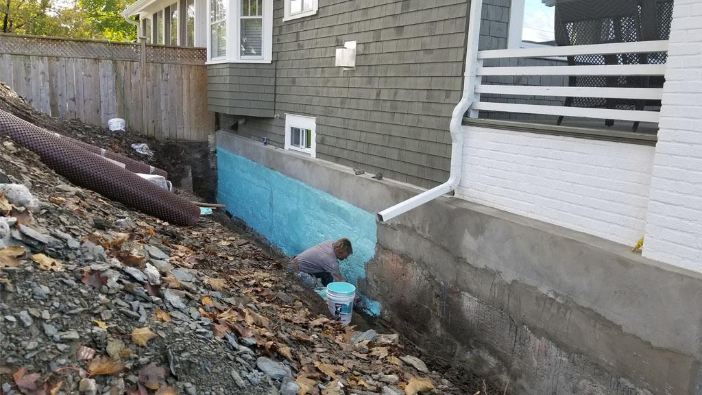 basement foundation waterproofing
